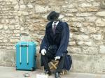 オックスフォードの大道芸人
