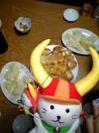 初ホワイト餃子