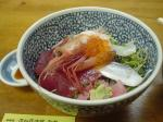 海鮮丼480(税抜き)なり。