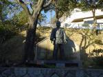 姿三四郎の銅像