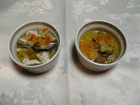 利久ちゃん食トッピング2種。