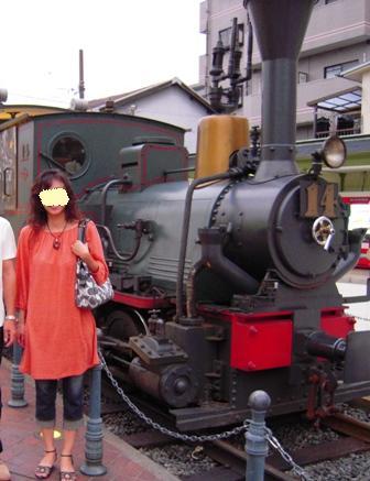 坊ちゃん列車。