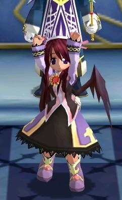 宮廷魔道師の服