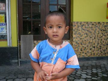 ジャワの子供