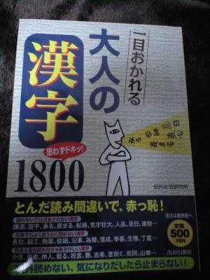 大人の漢字2