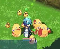 ミンゴに集られてみる