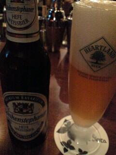 シェスタでビール