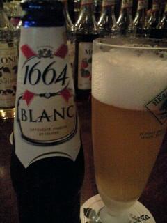 シェスタでビールを