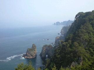 展望台からの北山崎