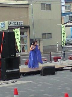 ゆげみわこさんの青いドレス素敵です