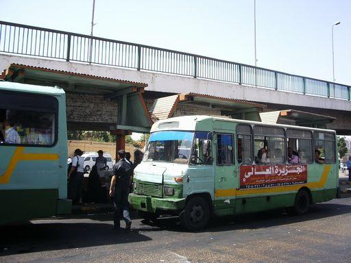 エジプトのバス