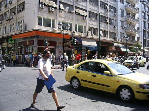 アテネの街並
