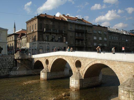 サラエヴォ事件の橋