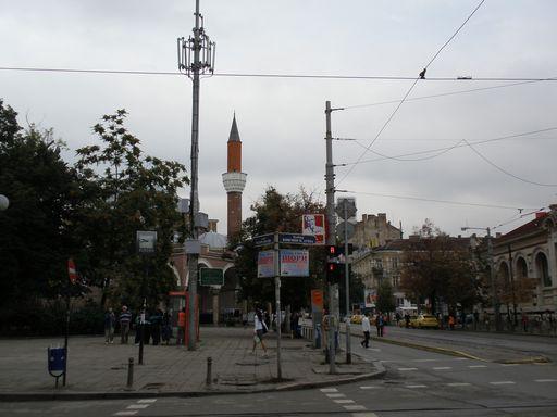 モスクと街並
