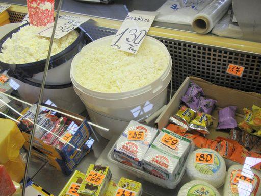 売り場チーズ