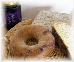 黒豆ジャムとパン