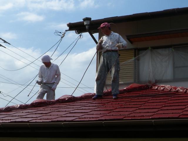 熱い屋根工事
