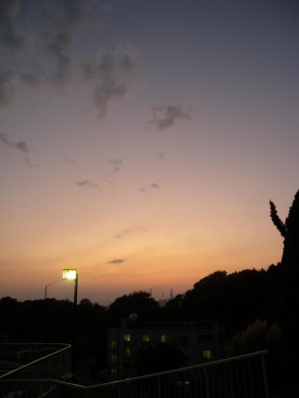 児島の夕日0