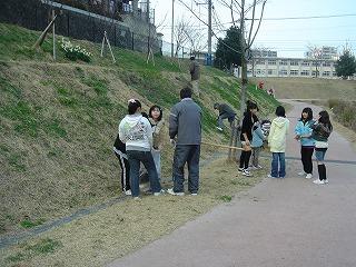 緑水会~にしたかの生徒参加~ 024
