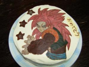 gogeta cake