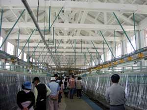 富岡製糸工場内