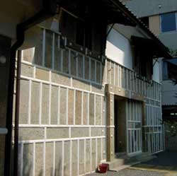 旧篠原住宅 新蔵の壁
