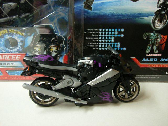 Bアーシー、パッケージとバイク形態