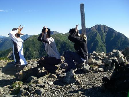 塩見岳 聖 091