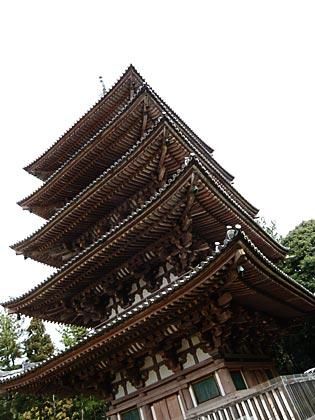 醍醐寺五重塔5