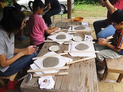 09親子で陶芸体験1