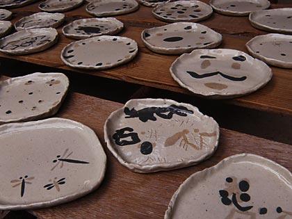 09親子で陶芸作品完成3