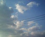 4月2日の空