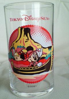 ミニーちゃんのグラス