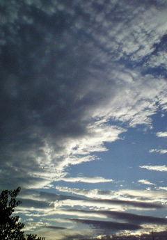 2009.10.22夕方の空