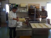 パン作りの様子