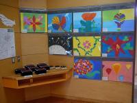 ホールの展示作品