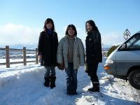 峠の三人娘!