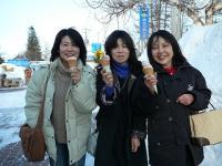 イチゴアイスの3人娘!