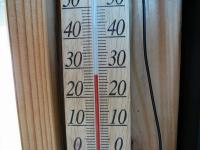 外は30度超え?