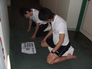 日大スケート部・松尾選手&羽賀選手