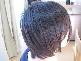 髪を切る20073月