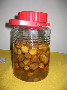 梅酢ジュース完成
