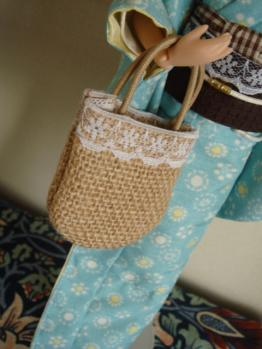 annz flower parasol bag