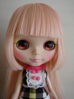blythe @nai eyes pink