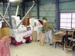 調製(籾摺り)作業