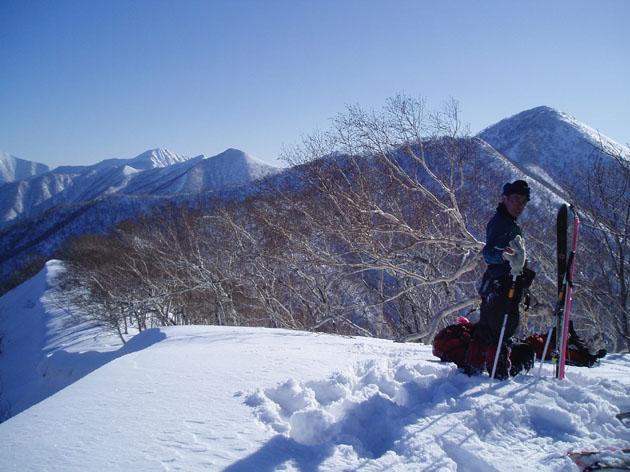 野塚岳・オムシャヌプリ