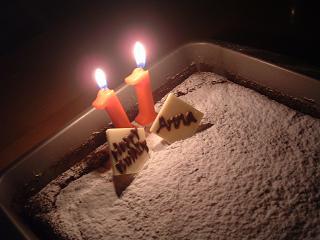 スフレチョコケーキ2