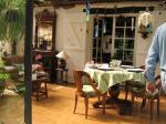 テラスの食堂