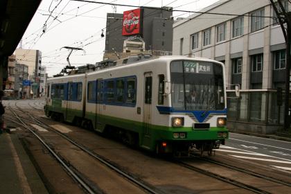 福井鉄道 市役所駅前のモ880