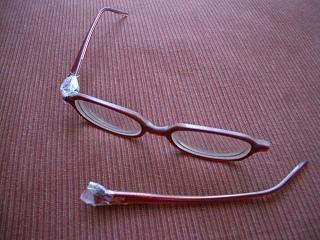 ママのメガネ